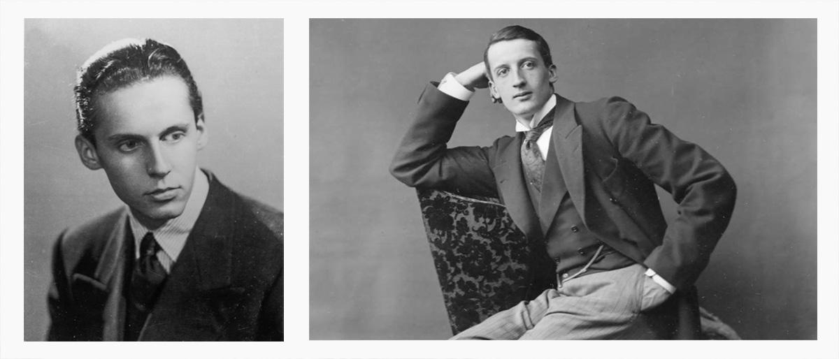 Ritratti di Camillo e Roffredo Caetani